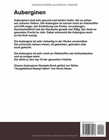 Auberginen - Ausgefallene Rezept Ideen: Auberginen das Turbo-Gemüse mit reichlich Vitalstoffen! - 2