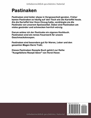 Pastinaken - Ausgefallene Rezept Ideen: Pastinaken, das vergessene Knollengemüse!!! - 2