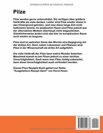 Pilze - Ausgelallene Rezept Ideen: Pilze, die kulinarische Begegnung der dritten Art! - 2